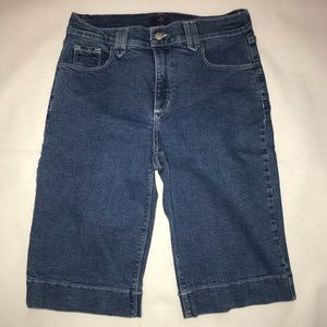 NYDJ Not Your Daughter's Jeans Bermuda Shorts 10